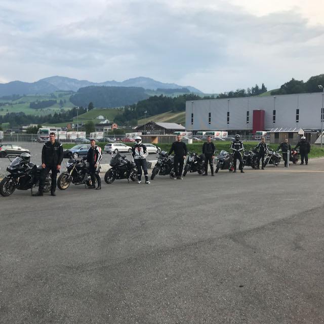 Bilder Motorradgrundkurs Zug