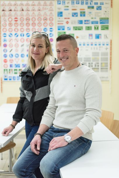 Bilder Fahrschule-Fahrlehrerin Sabina in Chur