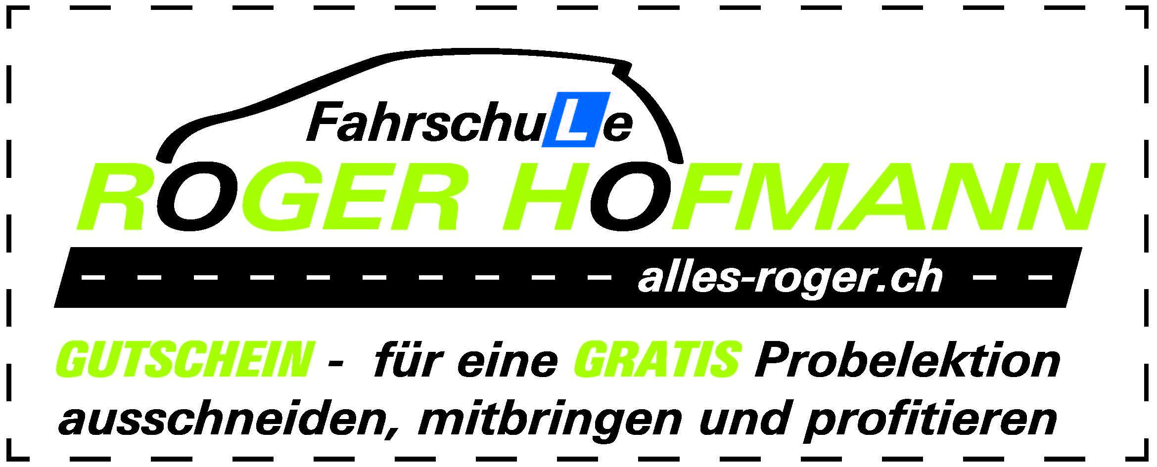 Bilder alles-roger.ch / Fahrschule Roger Hofmann