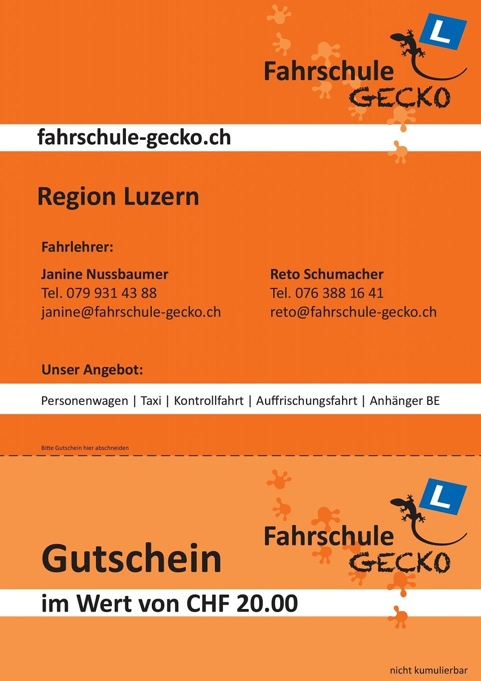 Bilder fahrschule-gecko.ch