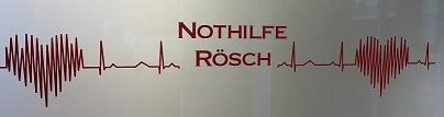 Bilder Nothilfe Rösch